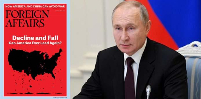 Foreign Affairs για Πούτιν: Οι επικίνδυνες ευκαιρίες που διατηρούν τον ισχυρό άνδρα της Ρωσίας στην εξουσία