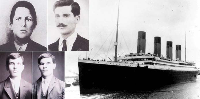 Σαν σήμερα……15 Απριλίου 1912 . Βυθίζεται ο Τιτανικός και παίρνει μαζί του και τους τέσσερις Μεσσήνιους επιβάτες του